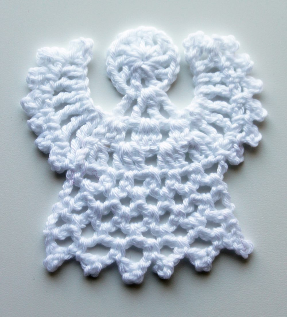 Crochet angel  video tutorial