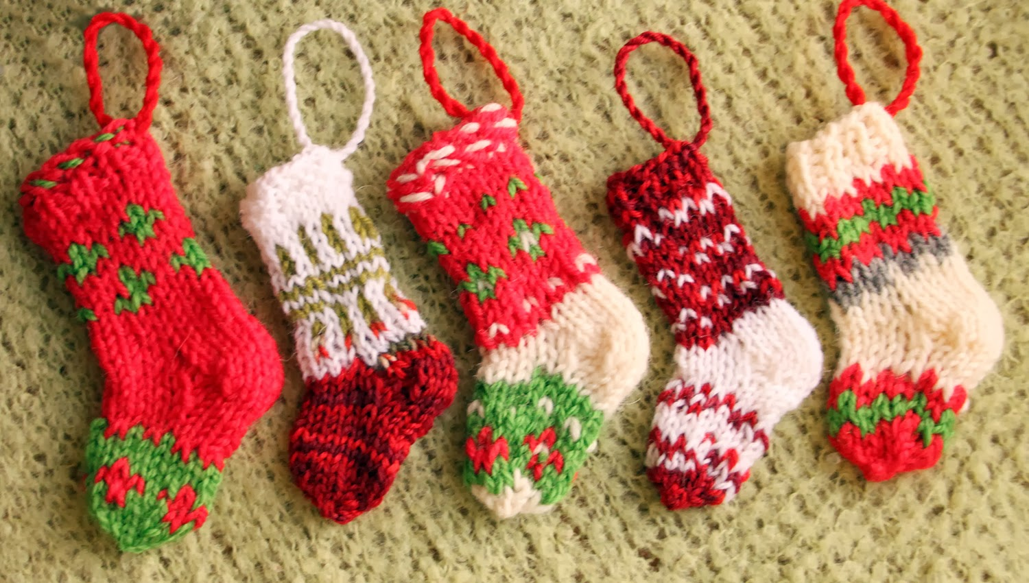 Patterns For Christmas Stockings