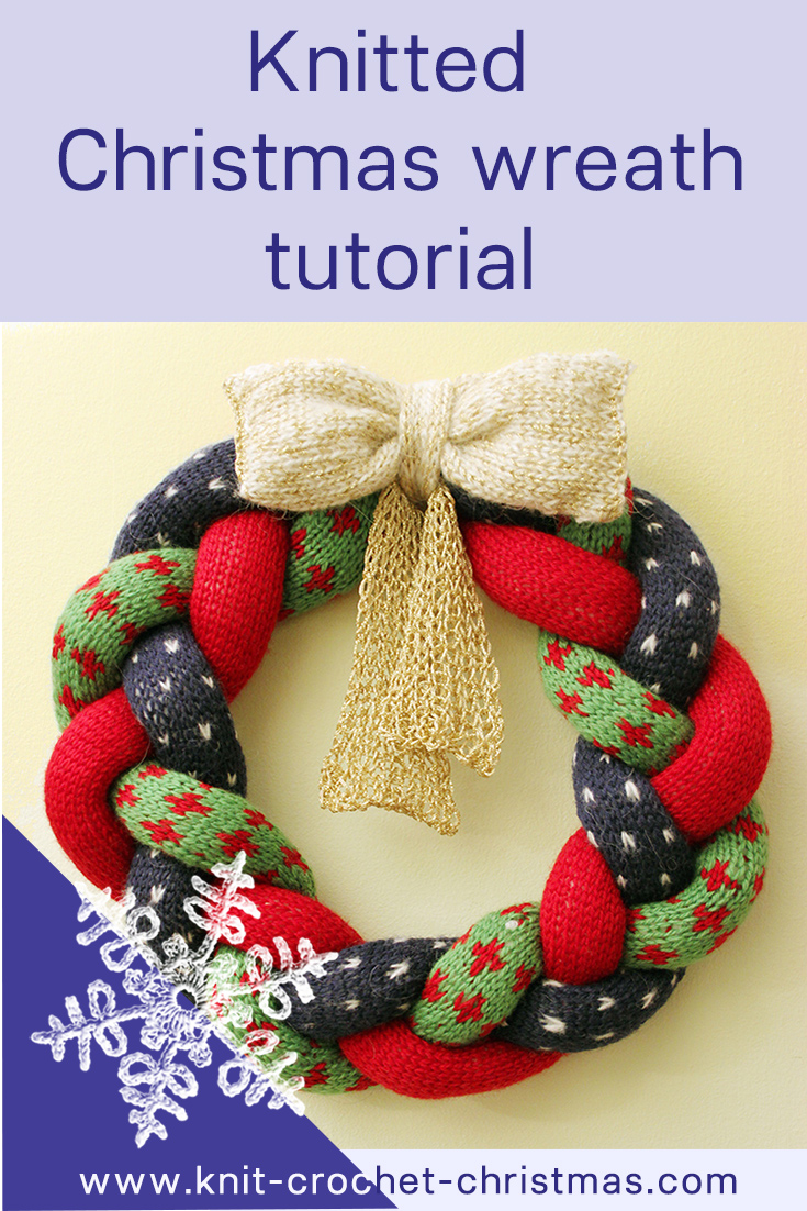 pinnable-knitted-christmas-wreath
